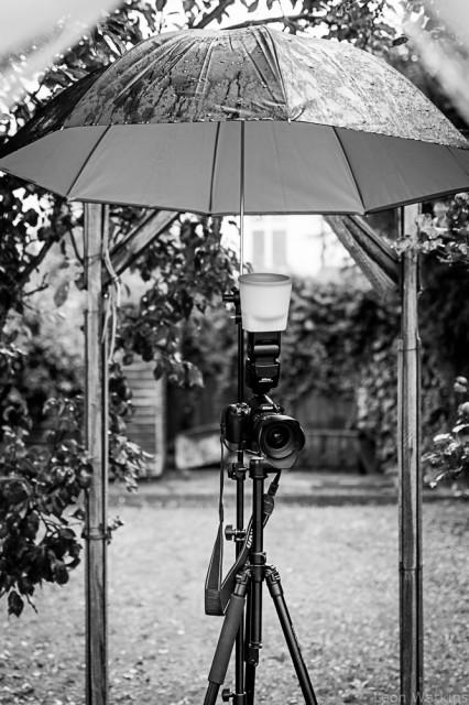 Using an Umbrella as an Umbrella - shocking!