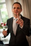 getting told off by one of the groomsmen